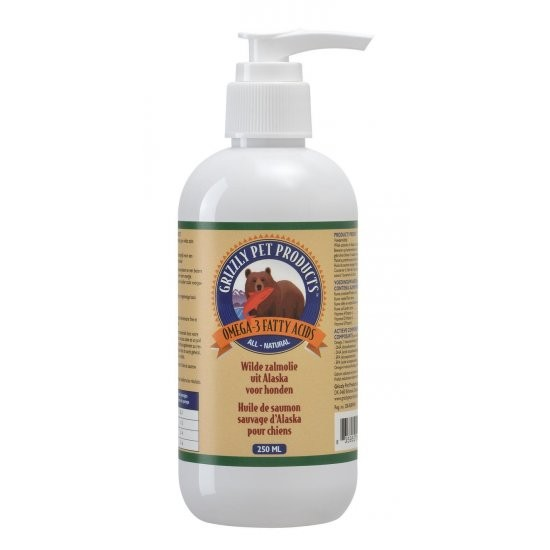 Grizzly Wilde Salmon Oil (lososový olej) 250ml