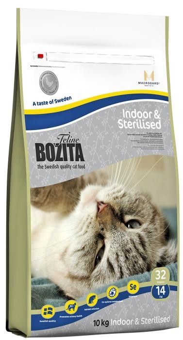 Bozita Feline Funktion™ Indoor & Sterilised 10kg
