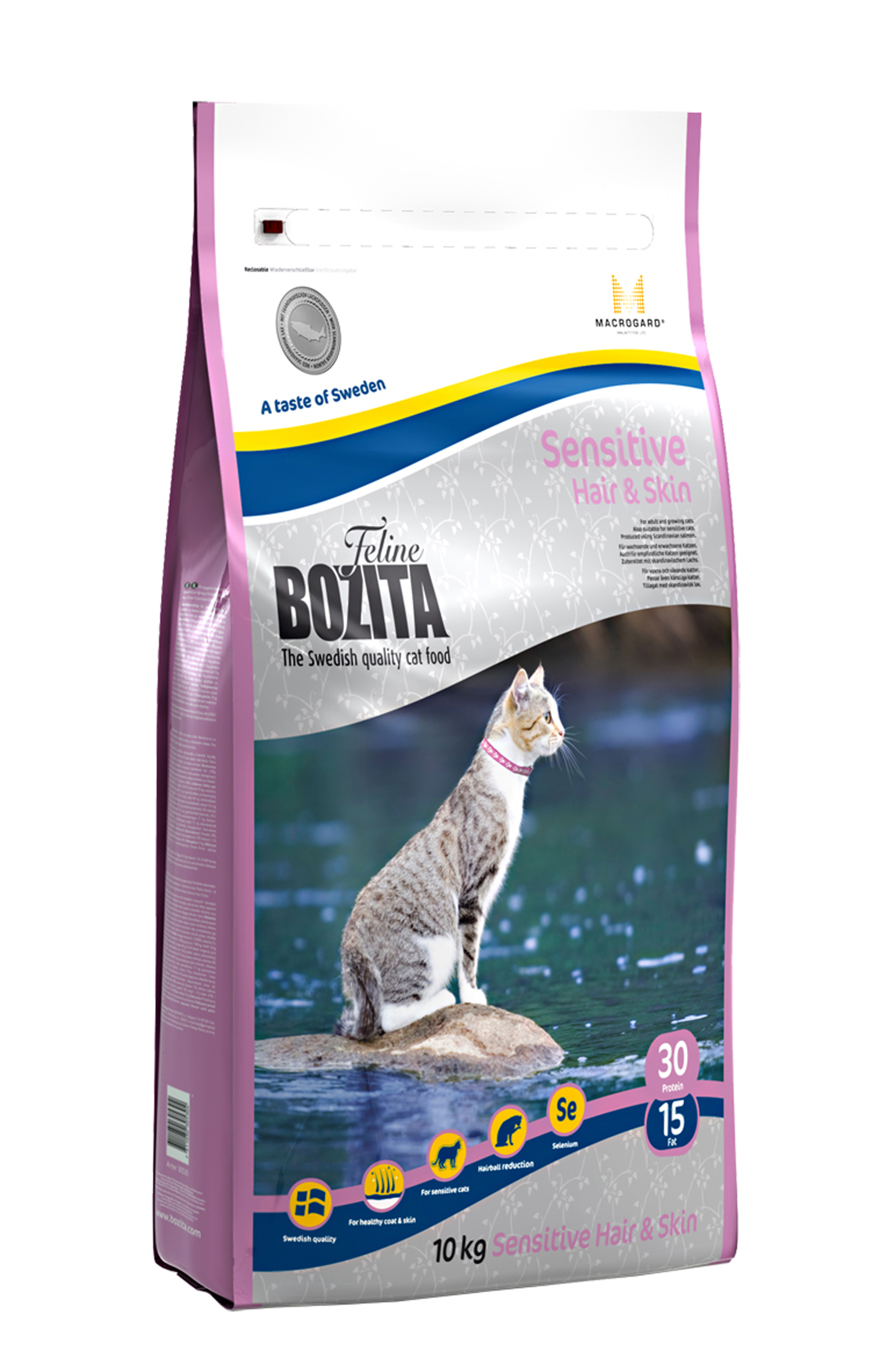 Bozita Feline Funktion™ Sensitive Hair & Skin 10kg