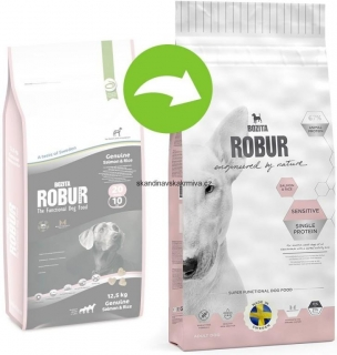 Bozita Robur Sensitive Single Protein Salmon & Rice 12,5 kg