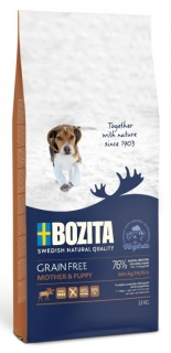 Bozita Grain Free Mother & Puppy XL Elk (Los) 12kg
