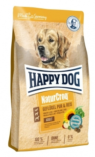 Happy Dog Naturcroq 23/10 GEFLÜGEL PUR & REIS
